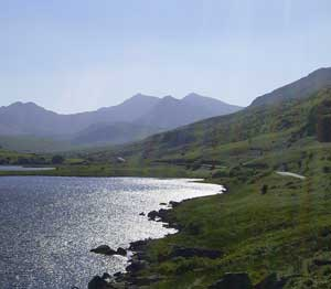 Traditional Welsh Farm Holiday Cottages - Snowdon from Capel Curig